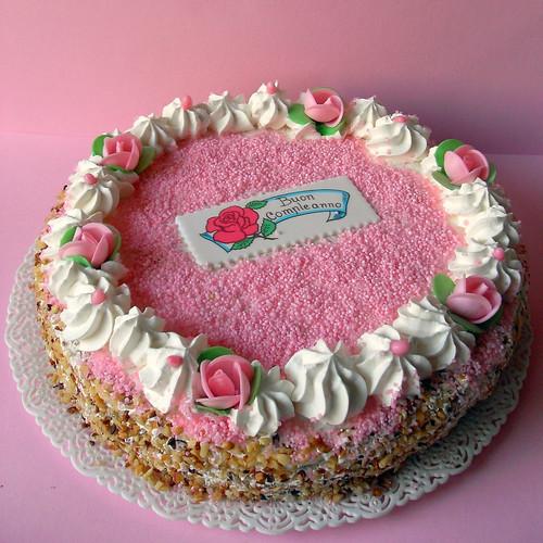 Super Dolci a go go: BIRTHDAY CAKE FOR MOM BI15