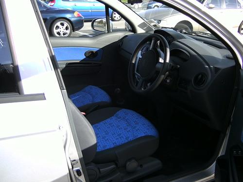 Chevrolet Matiz Interior