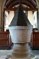 Norman font - Churchover