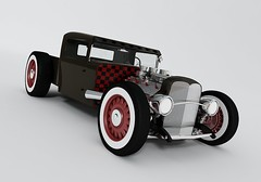 1929 Chevy Pick Up (chevy.belair57) Tags: old school hot up 3d model rat chevy rod 29 pick 1929