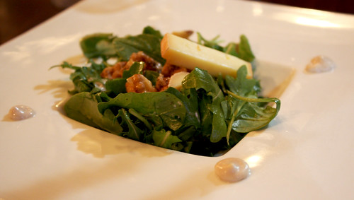 Walnut Arugula Salad