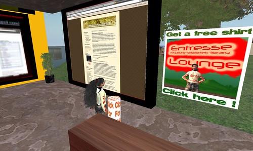 kirjallisuusblogi Second Lifessä