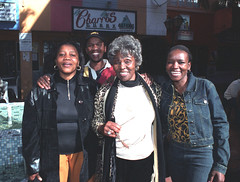 Dorothy Masuka Lilly Sylvester and Pauline Time Square Yeoville Johannesburg South Africa June 2002 005 (photographer695) Tags: south african friends girls beautiful fun dorothy masuka lilly pauline time square johannesburg africa june 2002 sylvester yeoville
