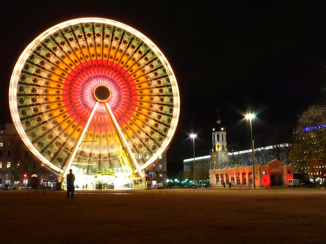 Big colorful wheel #1