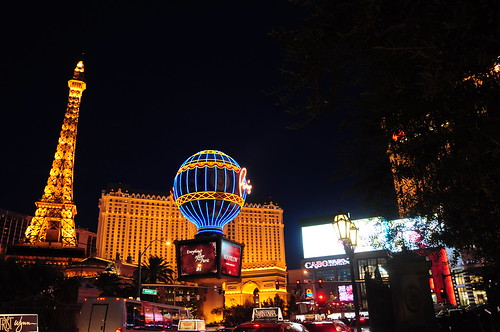 We walked and walked until The Strip turned from day to neon-tinged night.