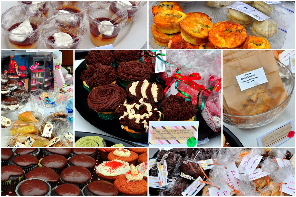 SWEET TREATS COLLAGE