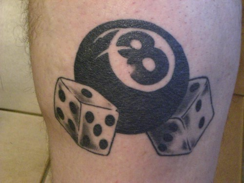 8 Ball Tattoo Tattoo (Set)