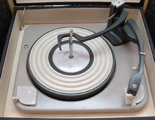 autochanger record player