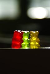 Candies (Pommezed) Tags: pentax sweet candies bonbon bonbons sucre nounours doux cany sucr sucreries glatine pentaxart pommezed