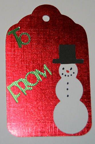 Snowman Tag #2