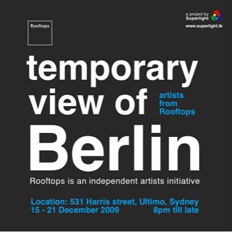 temporary view of Berlin