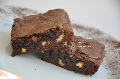 Cevizli Brownie