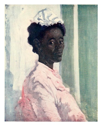 018-Una jamaicana negra-The West Indies 1905- Ilustrations Archibald Stevenson Forrest