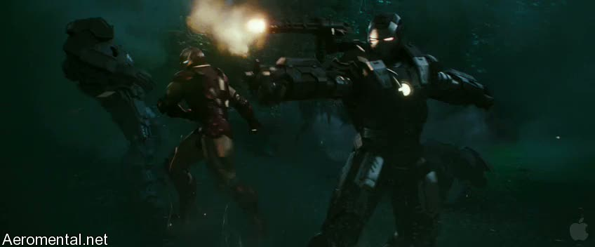 Iron Man 2 Trailer 2 War Machine battle