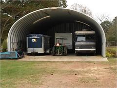 SteelMaster Metal Equipment Storage Building