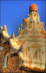Parc Gell (S. Lo) Tags: barcelona espaa architecture spain catalonia artnouveau gaud catalunya modernismo hdr modernisme parcgell espanya thechallengefactory