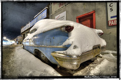 56 OldsmobileIZM 2 (f1design) Tags: auto nightphotography winter snow car rust automobile decay garage rusty chrome rusted rocket 50s fins taillights olds oldsmobile snowcovered americaniron brakelights autobodyshop olds88 oldsmobile88 streetshooting chromebumpers ottawaontario coveredinsnow ottawaon f1design oldsmobile88rocket 88rocket 56oldsmobile88rocket 1956oldsmobile88rocket