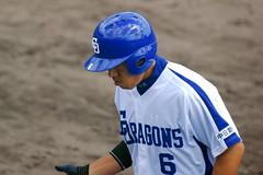 DSC_5795 (dragonsfanatic) Tags: camp training geotagged spring baseball dragons chunichi okinawa  eagles goldeneagles ballpark chatan 2010  rakuten        geo:lat=26311680 geo:lon=127758360