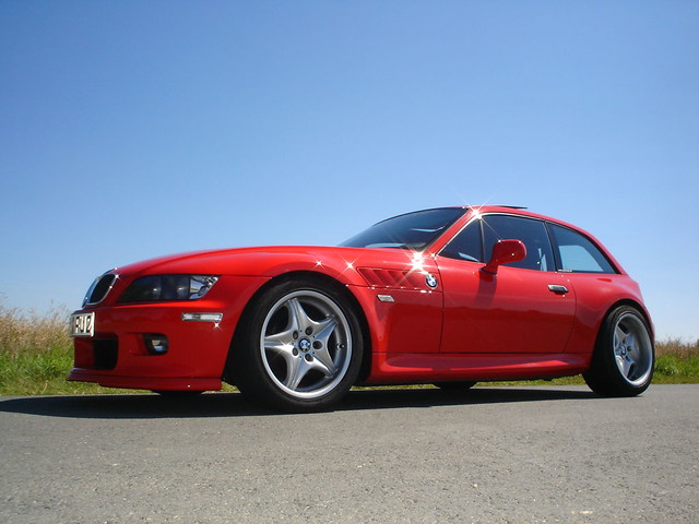 1999 Z3 Coupe | Hellrot Red | Black | With Z3 M Roadstars