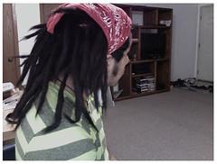 Rastas.3 (edypérezfoto) Tags: boy dreadlocks hair long photobooth with hippy tie piercing mexican journey locks lip dye dreads knots dreadlock rastafari rastas labaret