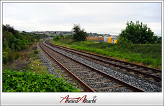 Cork Railway (Ahmed.Alharbi) Tags: bridge ireland train nikon cork railway 1855mm ahmed     d5000  alharbi