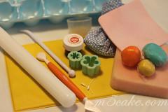 Luau cupcakes - 12
