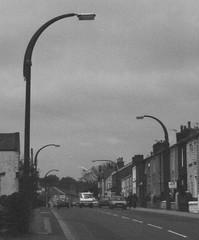 Egerton Lampposts (J_Piks) Tags: lampposts england street monochrome bw egerton bolton lancashire