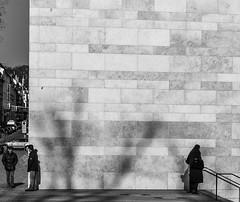 The Wall (tamoko1121) Tags: lightroom leica blackandwhite black bw white monochrome m m8 street streetphotos streetshot strase people urban