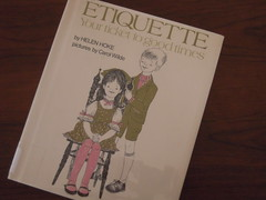 Etiquette for Kids (Jennifer Kumar) Tags: children book child culture rules etiquette childrensbook manners bookreview alaivanijune2009 helenhoke