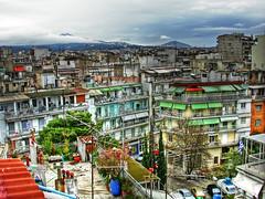 Roof Garden (Faddoush) Tags: city roof urban garden nikon cityscape rooftops hellas greece thessaloniki wink hdr faddoush
