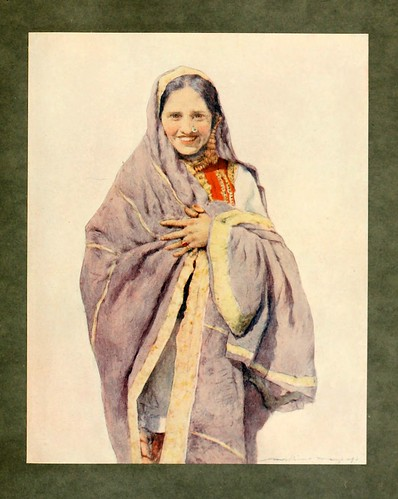 013- Mujer Hindú-The people of India 1910