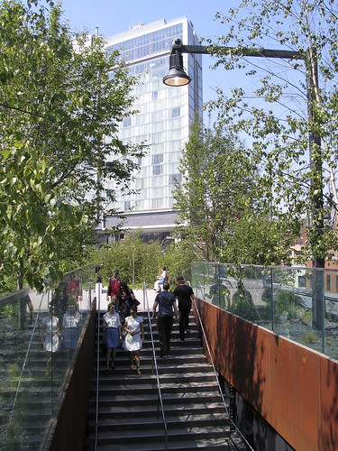 The High Line Entrance