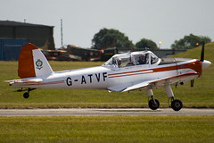 G-ATVF - C1 0265 - Private - De Havilland DHC-1 Chipmunk 22 - 090704 - Waddington - Steven Gray - IMG_8187