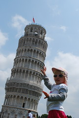 the tourist shot at the leaning tower of pisa (darrenpye) Tags: italy tourist pisa leaningtower