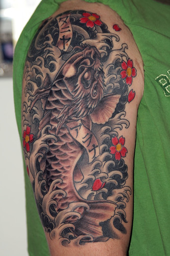 Koi Dragon 2nd Session by e kroll