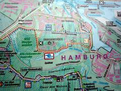 map van Hamburg Finkenwerder (dietmut) Tags: germany deutschland map hamburg plan places 2009 duitsland finkenwerder dietmut yourfavorites49 junijune