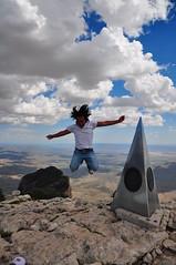 Jumping Over Texas (Donovan Rivera Photography) Tags: jump texas peak guadalupe elcapitan guadalupepeak