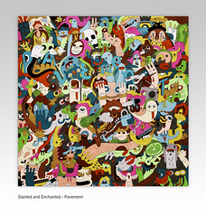 Pavement - Slanted and Enchanted (uberkraaft) Tags: music art illustration drawing pavement album band albumcover characters cdcover becks malkmus mattwilliams slantedandenchanted kraaft uberkraaft