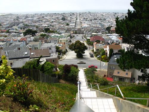 """moraga tiled stairs"""