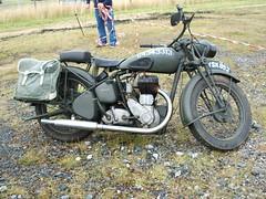 Military Motorbike (777ken) Tags: militaryvehicles warmachine bsam20 militarymotorcycles vintagemilitarytransport