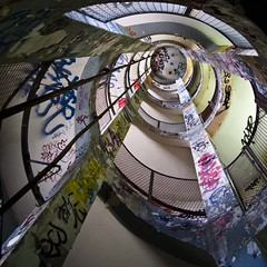 Les Frigos (gherm) Tags: paris france stairs canon spiral graffiti tags staircase artists escalier ateliers gettyimages artistes spirale workshops frigos gherm formatcarr eos40d 0907312804 gettyartistpicks