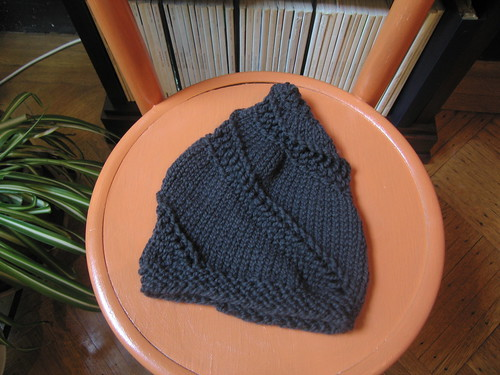 Black Snail Hat