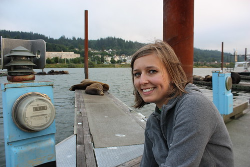 Minus the sea lions, this looks a lot like my senior class portrait.