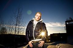 Kai II (Alex Worren) Tags: portrait sunflare strobist