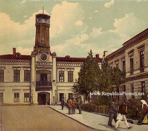 Primaria veche - 1900 (Ploiesti)