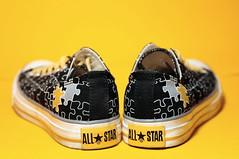 in bright yellow (adem chua) Tags: yellow nikon sneakers converse allstar chucks chucktaylor cls d90