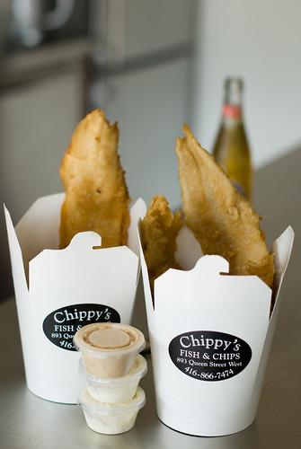 Chippy's Cod + Haddock + Tartar Sauce + Garlic Mayo