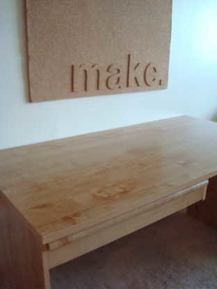 DIY Desk Corkboard
