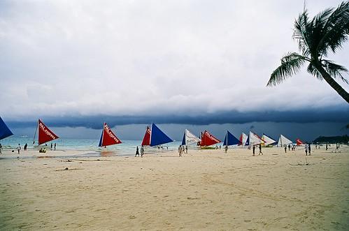 你拍攝的 【OM10】長灘島。