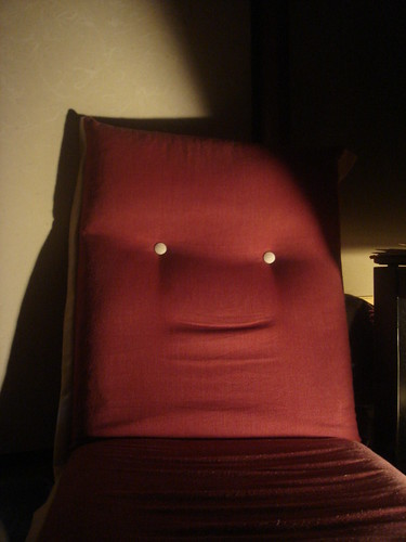 Chair face friend